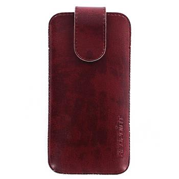Red Point pouzdro Bridge BE-03(10) pro Apple iPhone 5 - Bordeaux