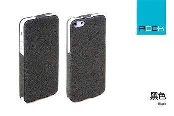 ROCK Eternal Kožené Flip Pouzdro pro iPhone 5/5S/SE