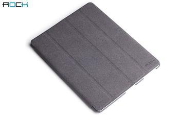 ROCK Eternal Kožené Pouzdro Grey pro iPad Mini