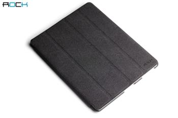 ROCK Eternal Kožené Pouzdro Polohovací Black pro iPad 2,3,4