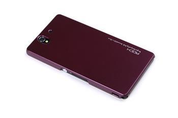 ROCK Extra Shell Zadní Kryt pro Sony C6603 Xperia Z Wine Red