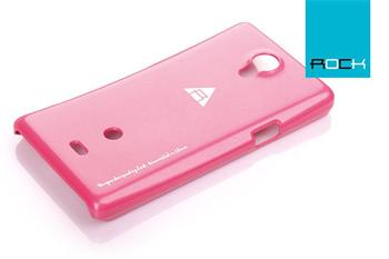 ROCK Extra Shell Zadní Kryt pro Sony Xperia T (LT30p) Rose Red