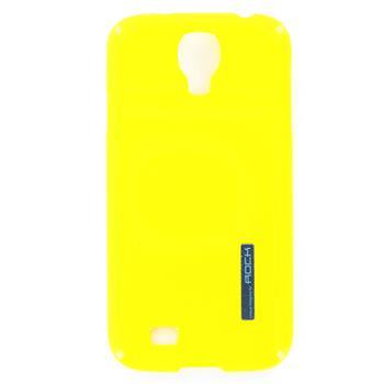 ROCK Extra Strong Zadní Kryt pro Samsung i9500 Galaxy S4 Lemon Yellow