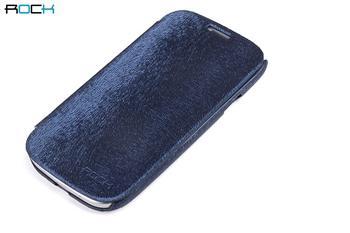 ROCK Flip Kožené Pouzdro pro Samsung i8750 Ativ S Dark Blue