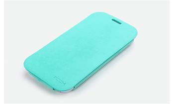ROCK Flip Stand Kožené Pouzdro pro Samsung N7100 Galaxy Note2 Green