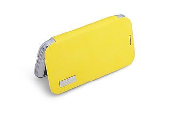 ROCK Folio Elegant Pouzdro pro Samsung i9500 Galaxy S4 Lemon Yellow