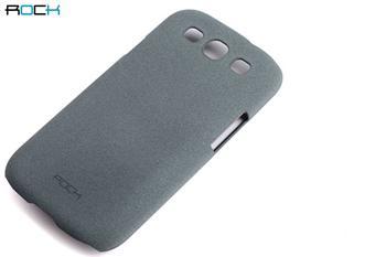 ROCK Hard Shell Zadní Kryt pro Samsung i9300 S3 Light Grey