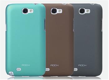 ROCK Hard Shell Zadní Kryt pro Samsung N7100 Galaxy Note2 Blue