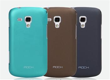 ROCK Hard Shell Zadní Kryt pro Samsung S7562 Galaxy S Duos Coffee