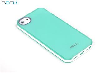 ROCK JoyFul TPU Pouzdro pro iPhone 5, 5S Green