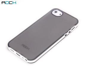 ROCK JoyFul TPU Pouzdro pro iPhone 5, 5S Grey