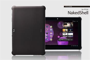 ROCK Naked Shell Zadní Kryt pro Samsung P7500/7510 Tab 10.1 Dark Grey