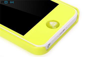 ROCK New Naked Shell Zadní Kryt pro iPhone 5, 5S, SE Yellow