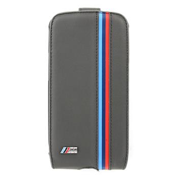 "Samsung (i9300/S3 i9301 Neo) Galaxy S3 BMFLS3MP BMW ""M"" Collection Flip Kožené Poudzro Šedé (EU Blister)"