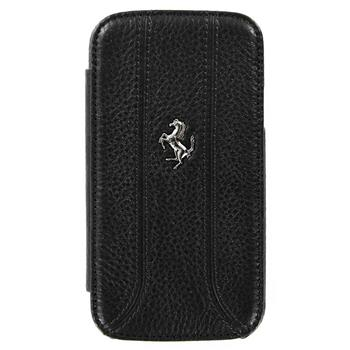 Samsung (i9300/S3 i9301 Neo) Galaxy S3 FEFFFLBKS3BL Ferrari Kožené Folio Pouzdro pro Čierne