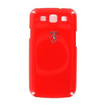 Samsung (i9300/S3 i9301 Neo) Galaxy S3 FESIHCS3RE Ferrari Zadní Kryt Metallic Red Scuderia