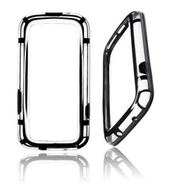 Samsung S3 (i9300/S3 i9301 Neo) S3 OEM Bumper Čierne Transparent