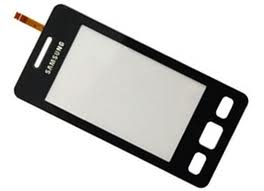 Samsung Star II S5260 Sklíčko plus dotyková doska čierna