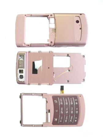 Samsung U900 kryt SWAP Pink, klávesnice,slide, zadní kryt