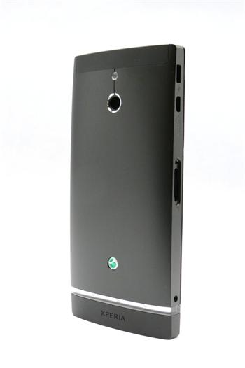 Sony LT22i Xperia P Komplet Kryt Black