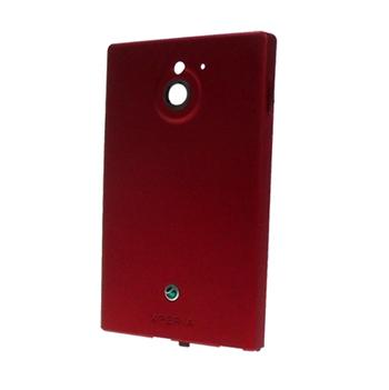Sony MT27i Xperia Sola Kryt Baterie Red