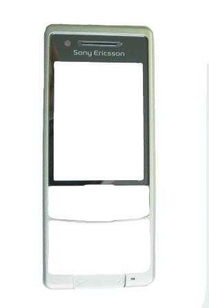 SonyEricsson C510 White-Red přední kryt