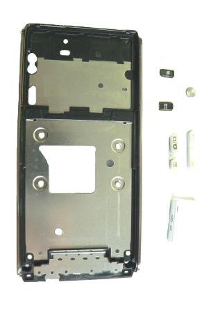 SonyEricsson C905 Black Střední Díl