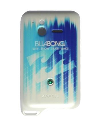 SonyEricsson ST17i Blue BillaBong Kryt Baterie