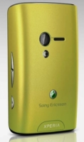 SonyEricsson X10mini Green kryt baterie