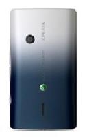 SonyEricsson X8 White Black kryt baterie