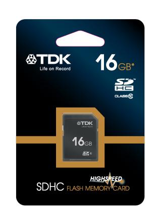 TDK SDHC 16 GB Travelcard Class 10 (t78716)