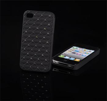 Tvrdé puzdro Diamond Samsung Galaxy Advance, i9070, Čierny