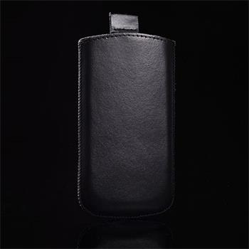 Vsuvka Pravá Koža Future HTC Desire C Čierna