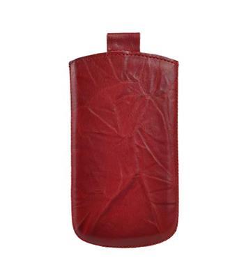 Vsuvka Pravá Koža Future LG L3 / E400 Červená krkvavá